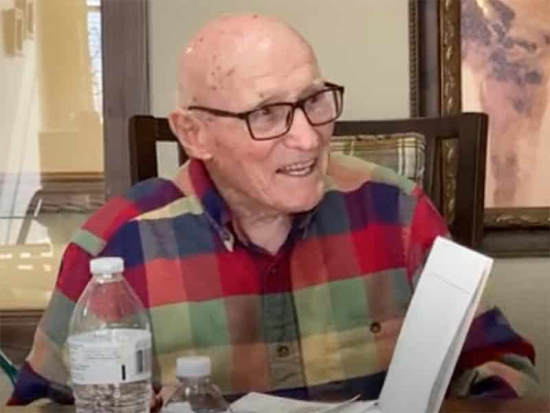 Resident and Retired US Army Veteran Norman F. M. Discusses His Service in World War II and Korea