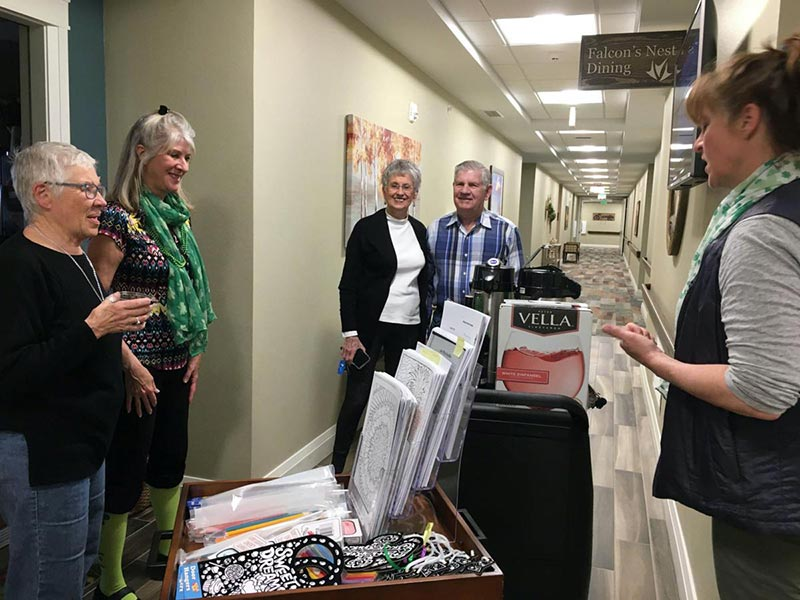 Monument Senior Living Communities Keeping Things Social for Residents During Social Distancing