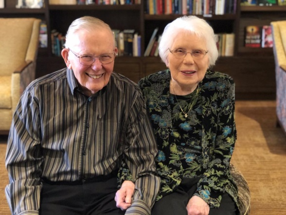 Jim and Roberta Swanson Discuss Their 70-Year Marriage