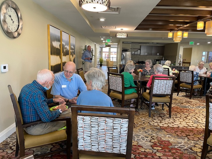 Getting to Know Event for New Residents a Hit